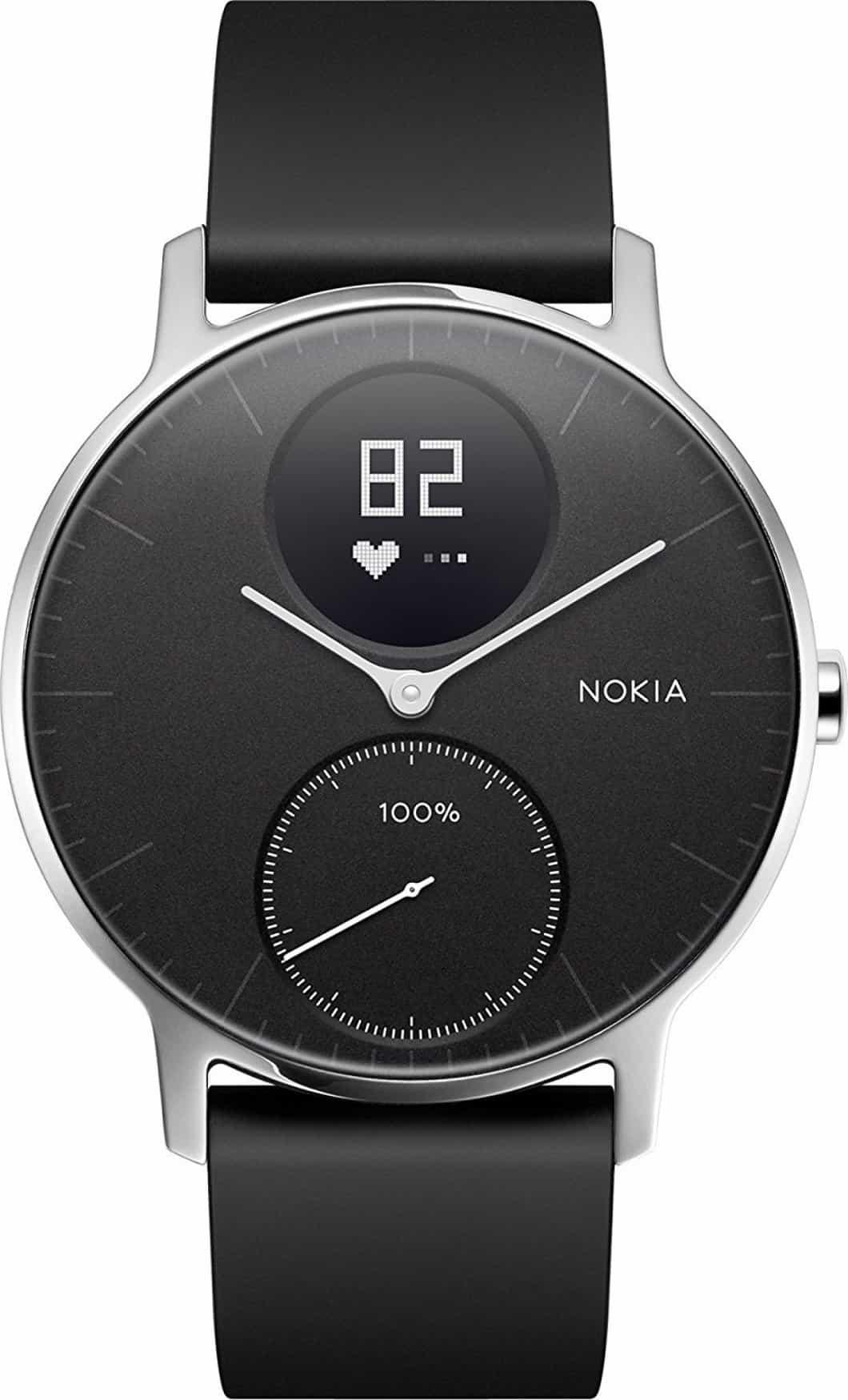 Nokia Steel HR: smartwatch da 1 mese di autonomia