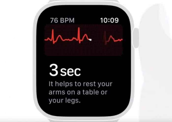 Come eseguire ECG su Apple Watch Serie 4