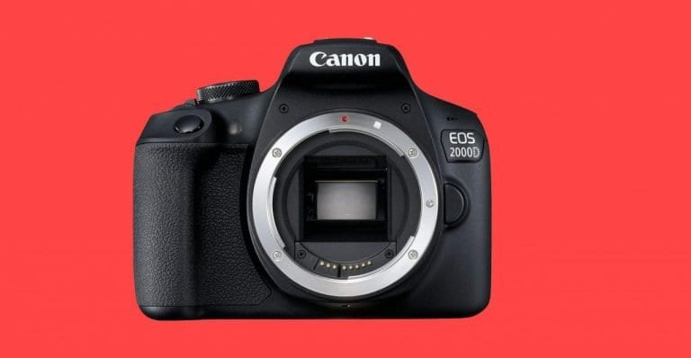 Amazon offre Canon EOS 2000D a 299€
