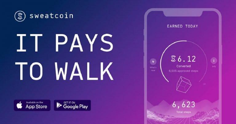 Sweatcoin è l'app che ti premia per camminare