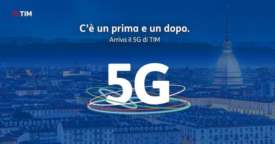 rete 5G di TIM