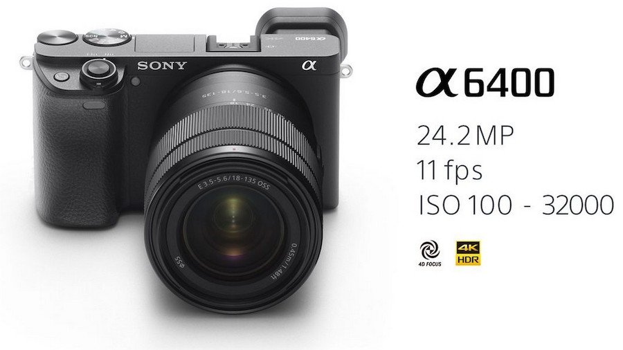 Fotocamera Sony Alpha 6400 in super sconto su Amazon
