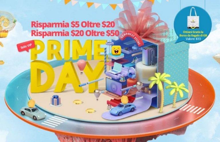 Anche Gearbest festeggia il suo Prime Day fino al 17 luglio