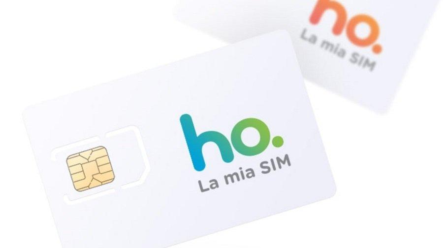 SIM operatore ho. Mobile