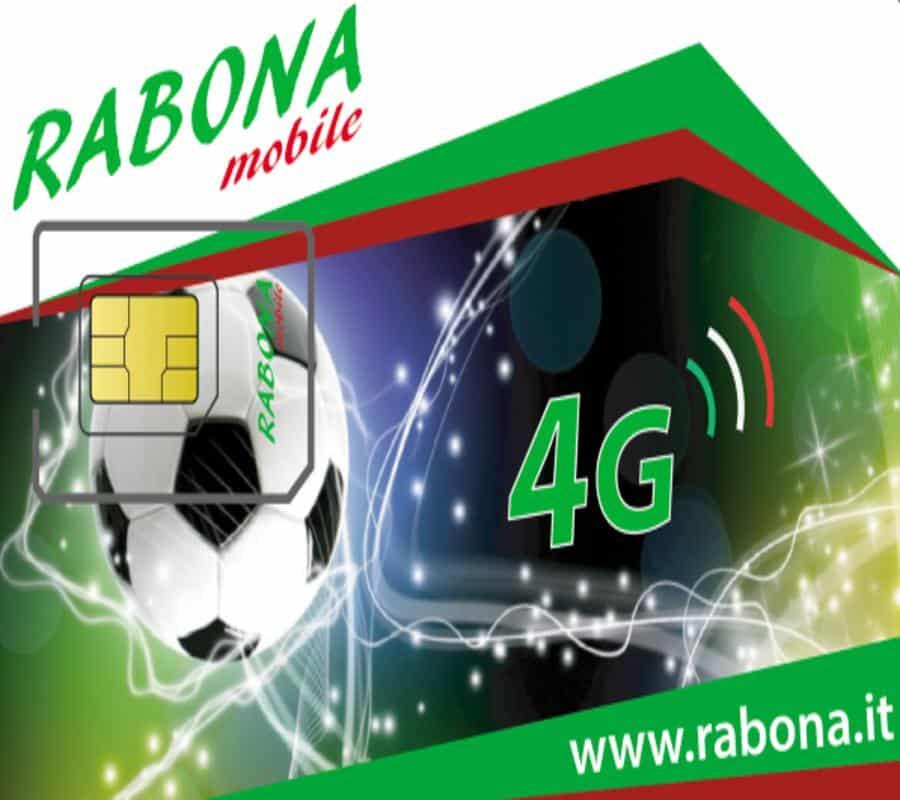 Rabona: offerta 1 abbinata alla sostituzione delle SIM
