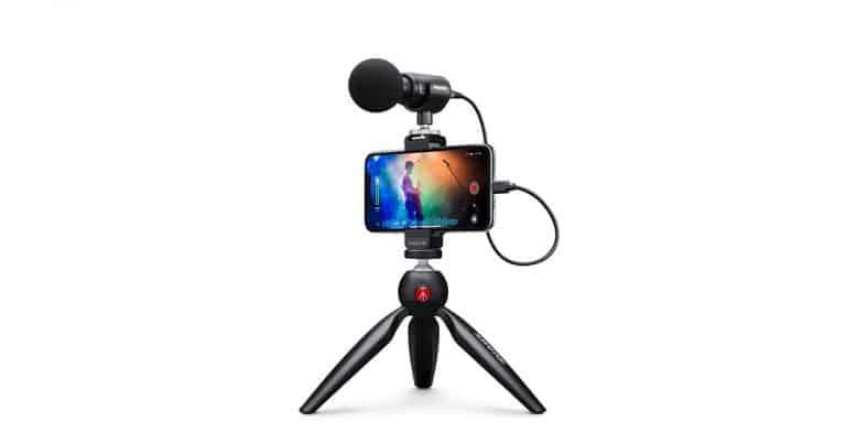 Shure MV88+: il microfono per youtuber e video