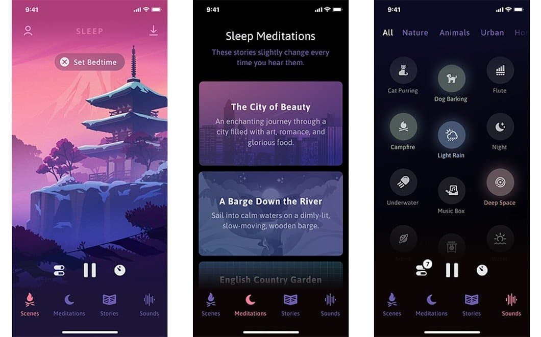 Sleep è l'app che concilia il sonno