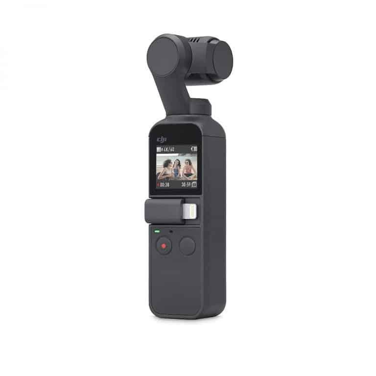 DJI Osmo Pocket, la videocamera con gimbal integrato