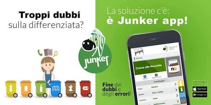 Junker organizza la tua raccolta differenziata