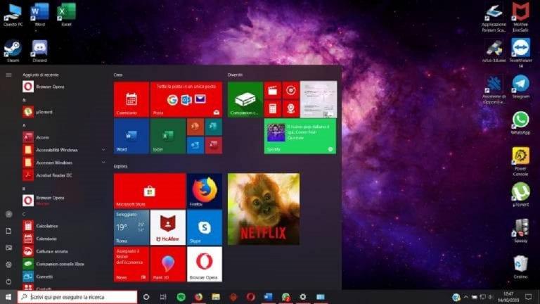 Configura il firewall integrato di Windows 10