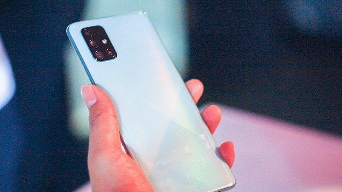 Samsung Galaxy A71 retro