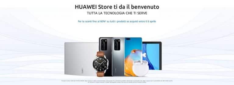 Nasce Huawei Store, il negozio con vari regali al lancio