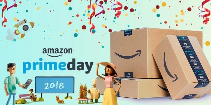 Amazon Prime Day 2018 locandina