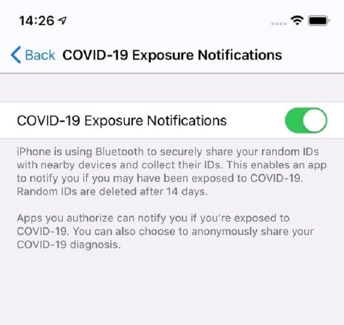COVID-19: le notifiche di esposizione arrivano su Android
