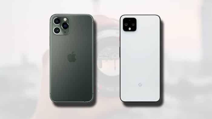 Le differenze tra iPhone 11 Pro Max e Google Pixel 4 XL