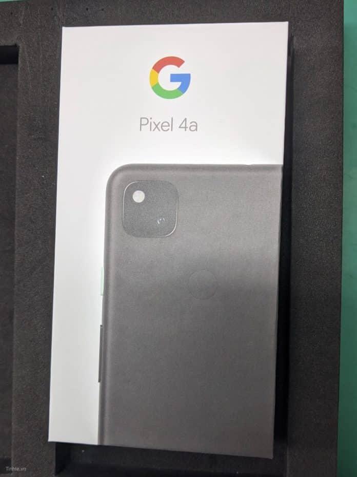 Scatola del Pixel 4a XL
