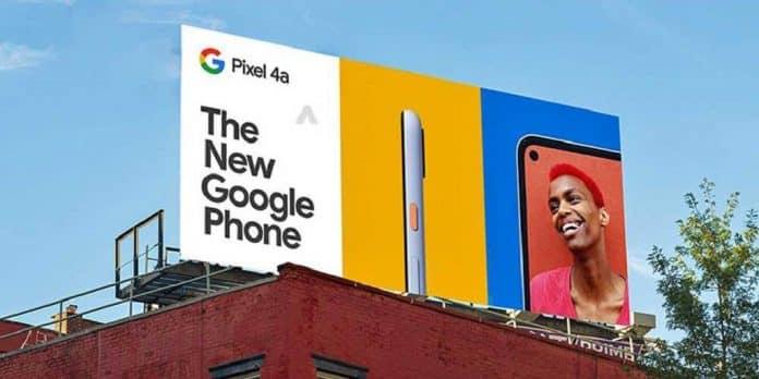Arriva Google Pixel 4a