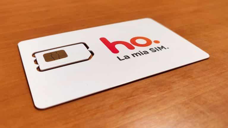 ho. Mobile: ad alcuni clienti offerte da 6,99 euro