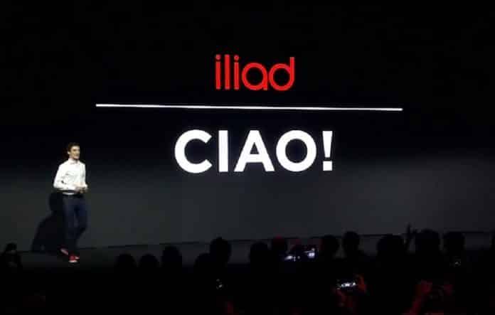 Iliad: iPhone nello store
