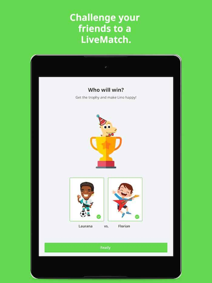 Impara le lingue con l'app LearnMatch
