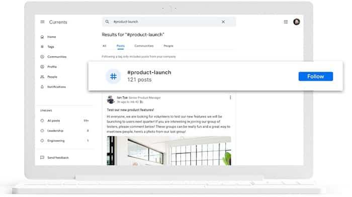 Google Plus torna in vita come Google Currents