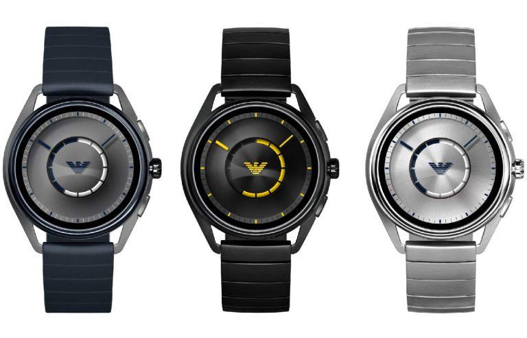 Emporio Armani Connected è lo smartwatch di classe