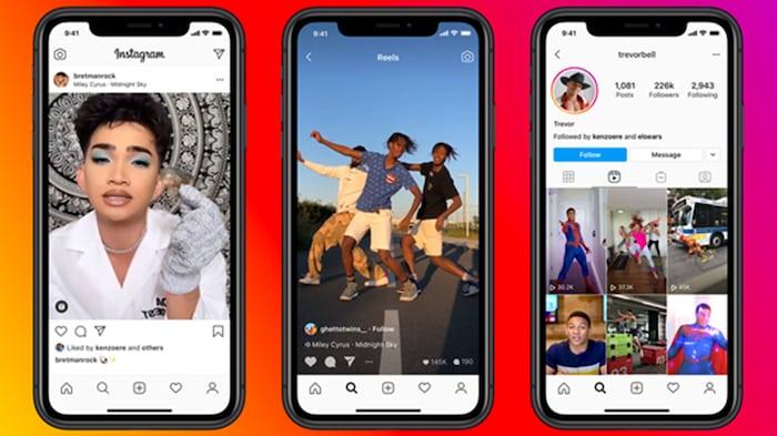 Instagram sfida TikTok con Reels: video brevi