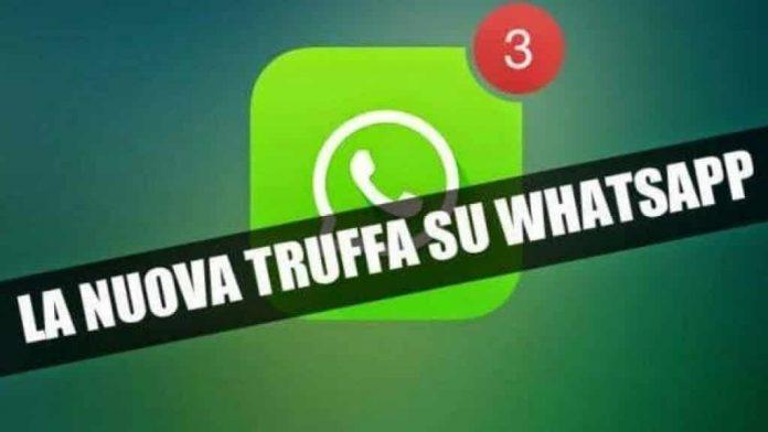 Truffe via WhatsApp | parte n.2