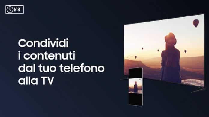 Trasmetti lo schermo del Samsung Galaxy Note 8 sulla TV