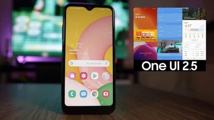 One Ui 2.5 di Samsung