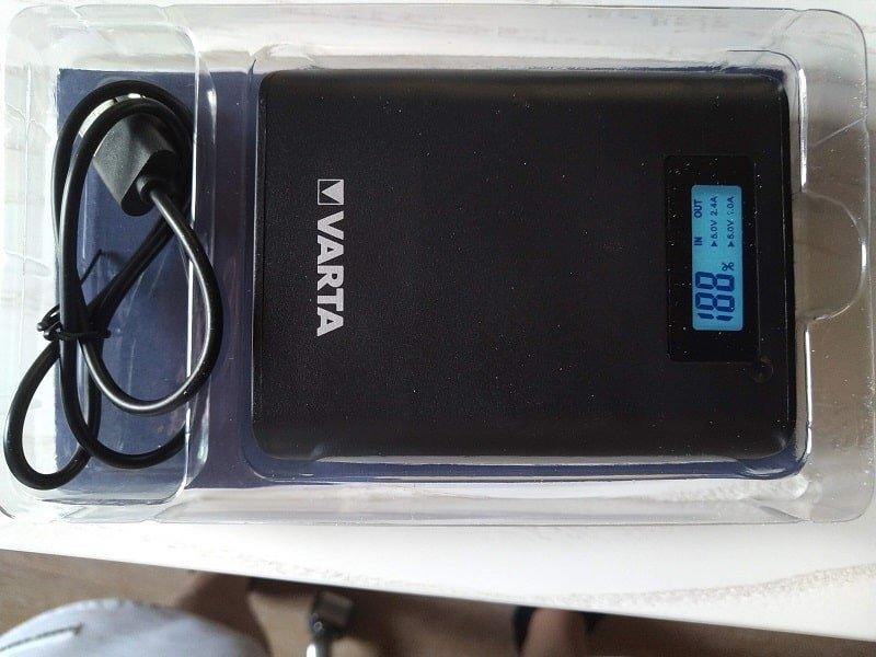 Recensione Powerbank Varta LCD 7.800 mAh