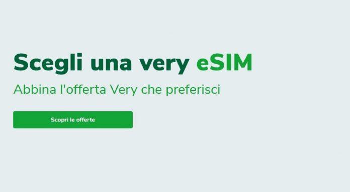 Very Mobile arrivano le eSIM con due offerte