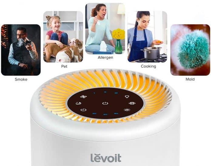 Purifica l'ambiente con il purificatore Levoit