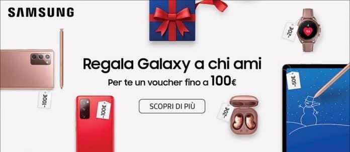 Samsung: fino a 100€ di sconto su dispositivi Galaxy
