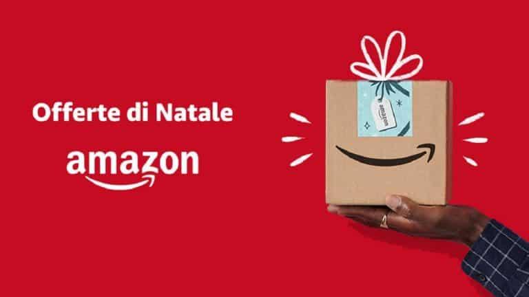 Al via il Natale su Amazon: le offerte migliori