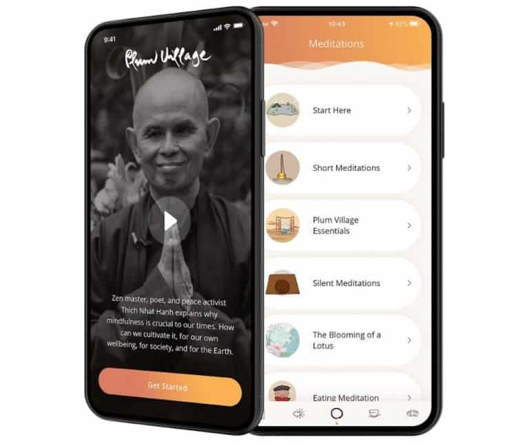 Medita con Plum Village, app dedicata al buddismo
