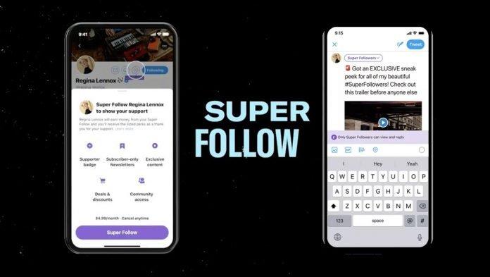 """Twitter annuncia """"Super Follow"""": abbonamento con contenuti extra"""