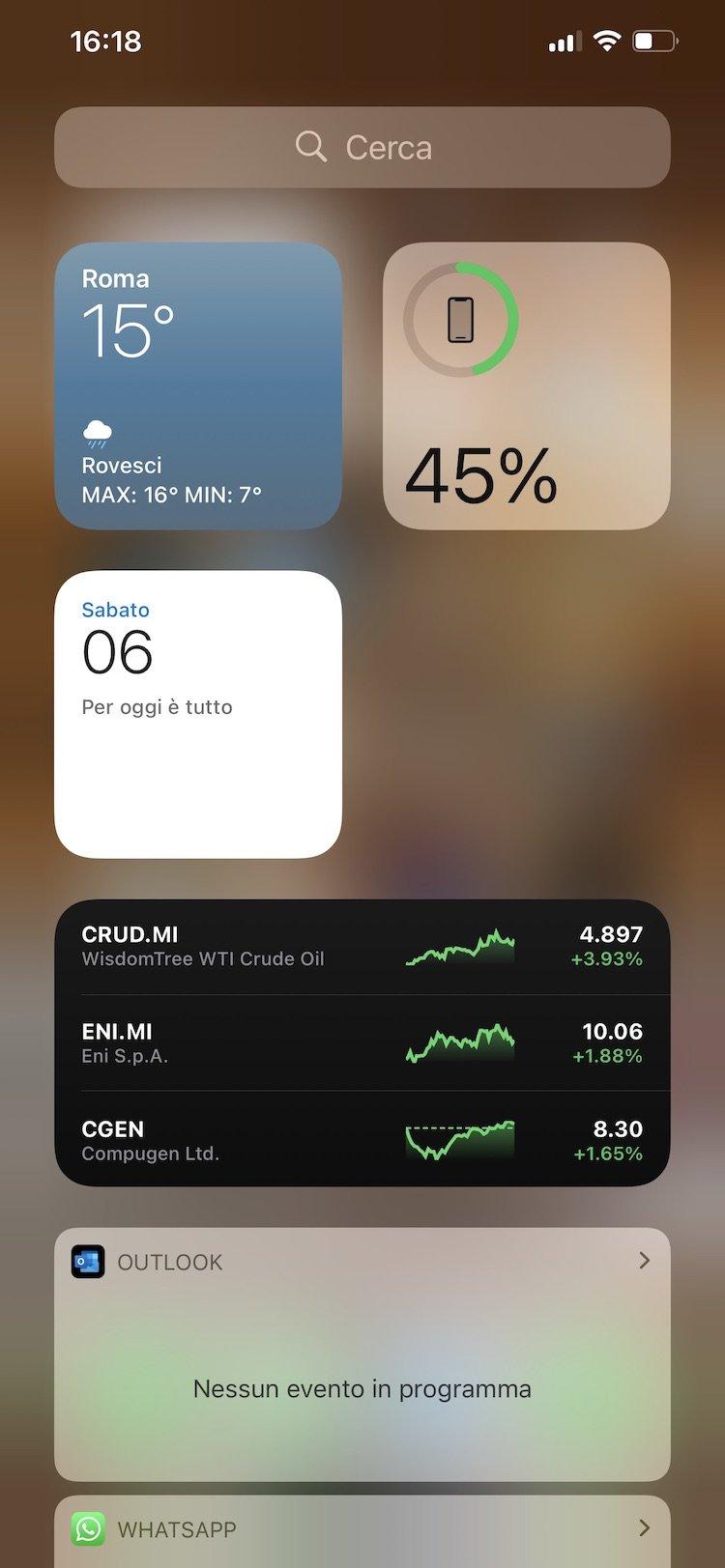Trova la percentuale batteria su iPhone in questi 4 modi