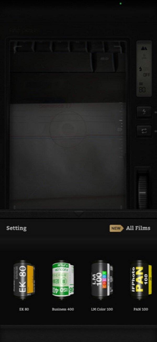 L'app Fimo riporta la tua fotocamera indietro nel tempo