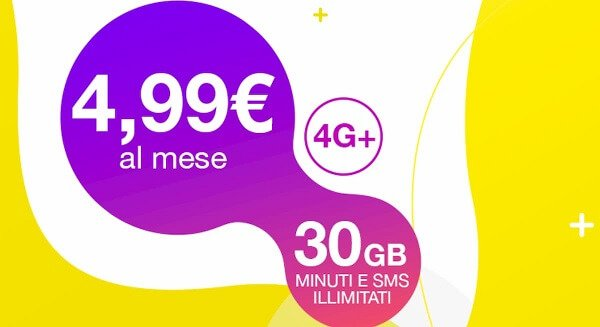 PosteMobile Creami WOW Weekend offre tutto a 4,99 euro