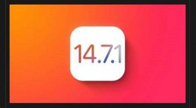 Apple ha rilasciato ufficialmente iOS 14.7.1