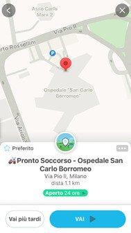 Su Waze vedi anche i Pronto Soccorso grazie alla Community