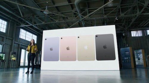 Presentazione iPad Mini 2021
