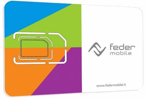SIM dell'operatore Feder Mobile