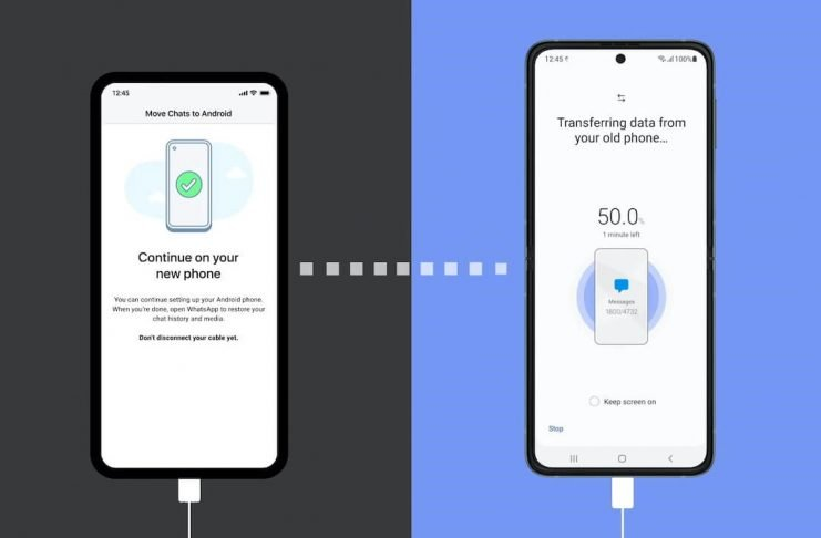 Come trasferire le chat WhatsApp da iPhone a Samsung Galaxy