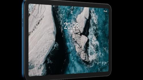 Display di Nokia T20