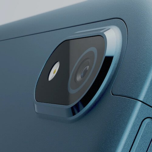 Il modulo fotocamera del tablet Nokia T20
