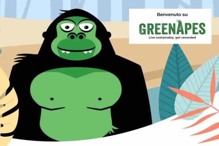 Diventa green con l'app GreenApes e vinci premi